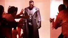 Wesley Snipes appears as Blade along with other stars in hilarious vampire gathering