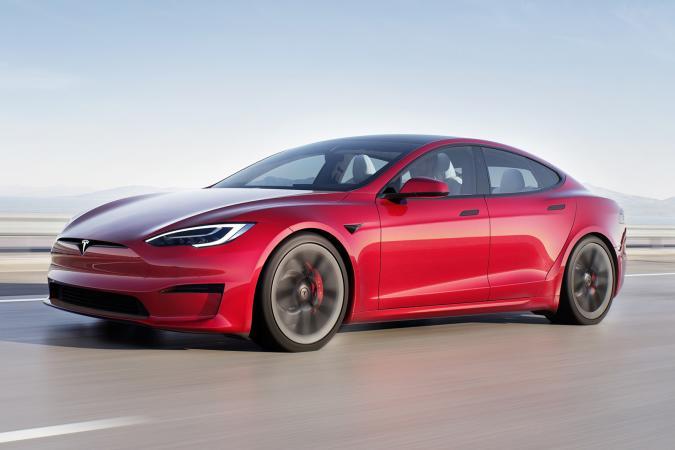 Tesla Model S Plaid for 2021