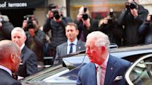 Prince Charles Keeps Forgetting Not to Shake Hands With People