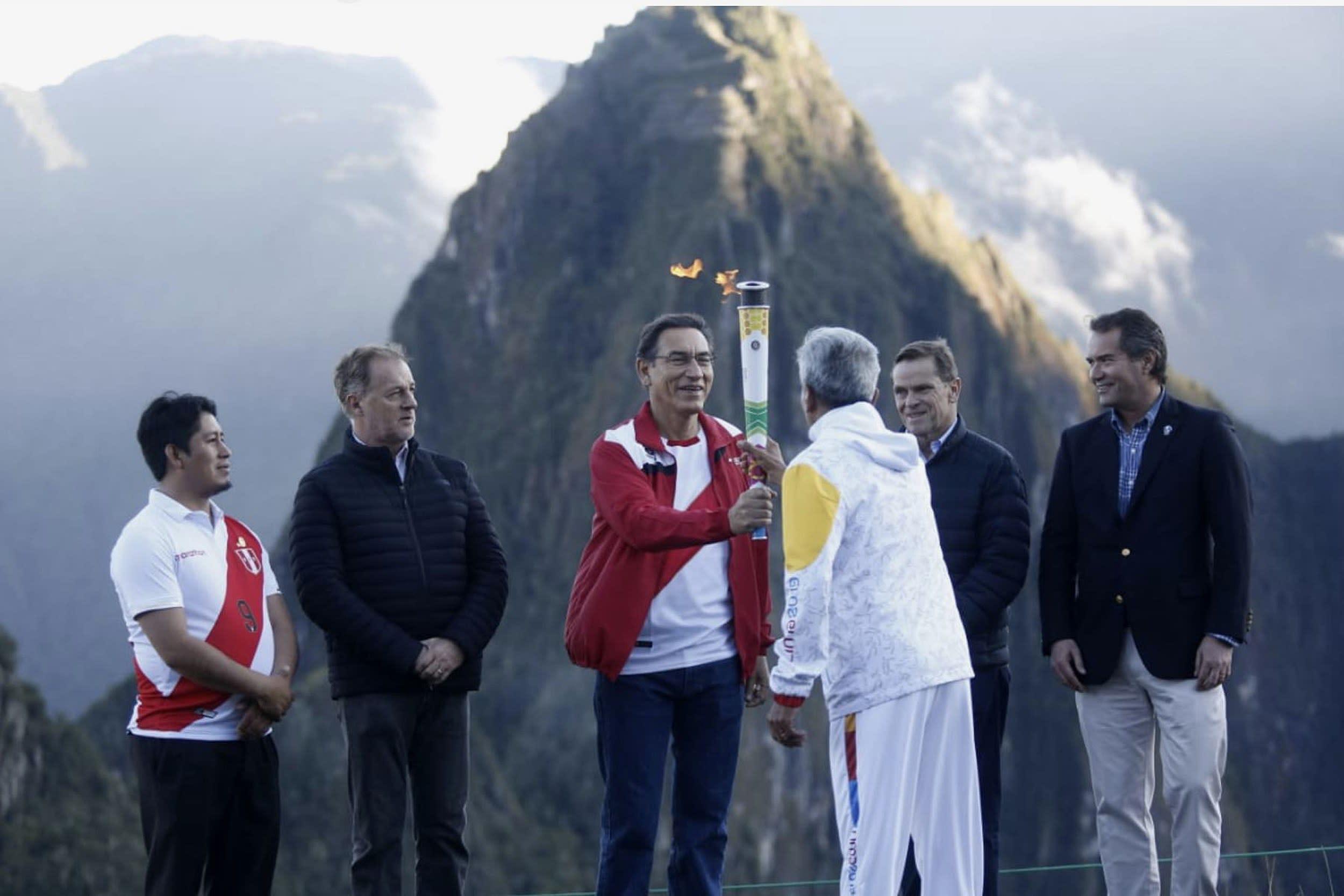 Resultado de imagen para La Antorcha Panamericana inicia en Machu Picchu su recorrido por el Perú
