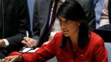 U.S. says progress with China on North Korea U.N. sanctions, true test is Russia