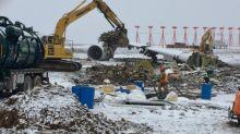 Cargo jet that overshot Halifax airport runway dismantled