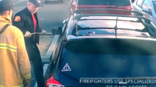 California Firefighters Rescue Kids From Locked Car and Closet