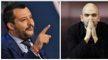 Salvini dice que estudiará retirarle la escolta al escritor Saviano, amenazado por la mafia