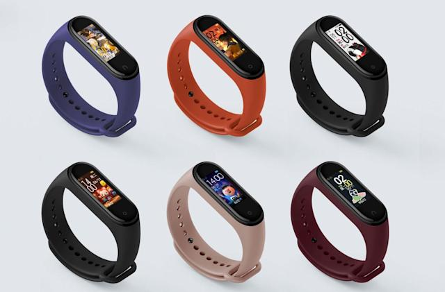 Xiaomi's $25 Mi Band 4 packs a color screen and swim tracking