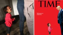 Dad says Honduran girl on Time magazine cover was not separated from mum