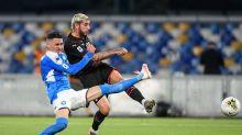 Napoli-Milan 2-2, Gattuso: Troppi errori, Pioli: Punto meritato