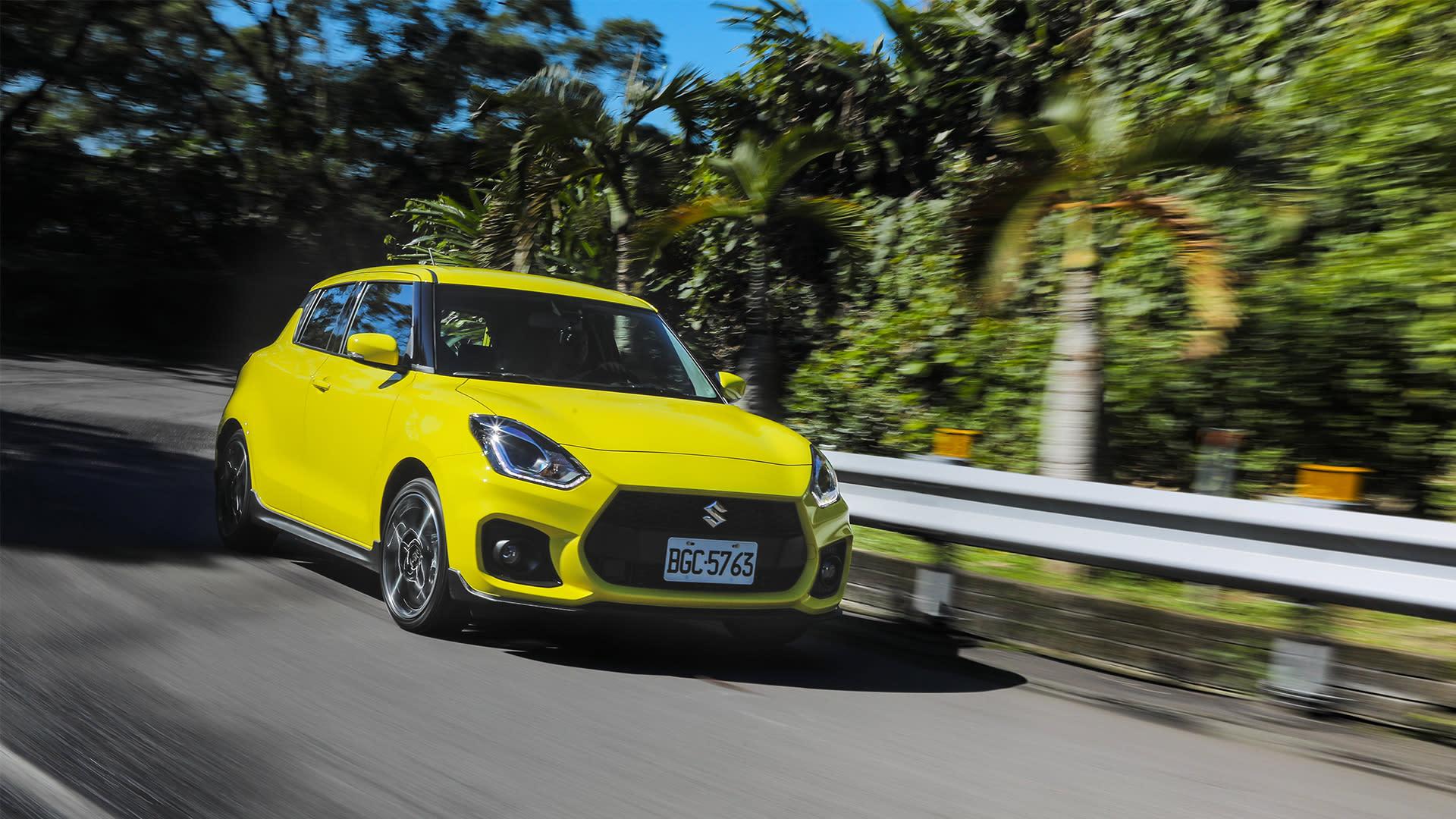油電渦輪小鋼炮首選!手排樂趣大躍進|SUZUKI SWIFT Sport 新車試駕