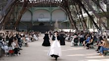 Chanel Built A New Eiffel Tower For Its Fall 2017 Couture Show