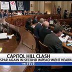Republicans, Democrats spar again in second public impeachment hearing