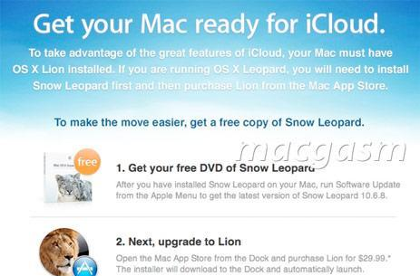 Apple offering free Snow Leopard update to MobileMe holdouts