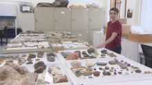 Radisson boy's rock museum, depleted by break-in, gets boost from Royal Sask. Museum donation