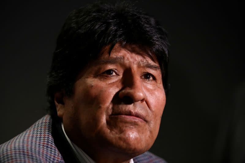 Former Bolivian leader Morales moves to Argentina, is granted asylum