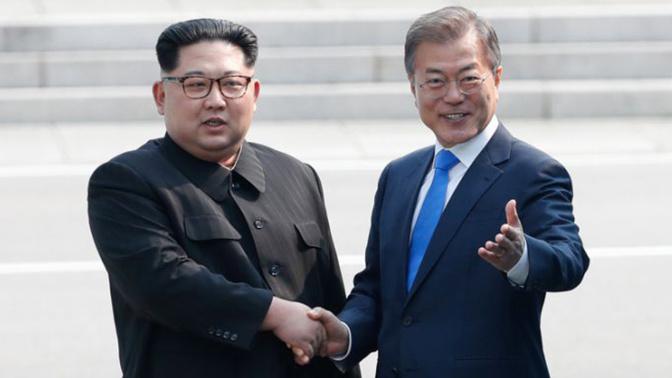 Histórico encuentro entre líderes de las dos Coreas