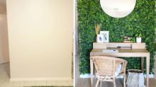 Aussie woman's simple hack for indoor green wall
