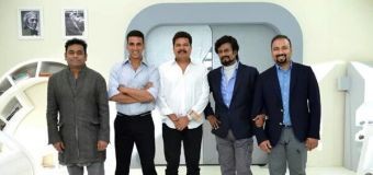Here is the official Facebook page of Rajinikanth, Akshay Kumar's 2.0 aka Enthiran 2