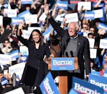 'I Am Back': Bernie Sanders Addresses 26,000 With Alexandria Ocasio-Cortez