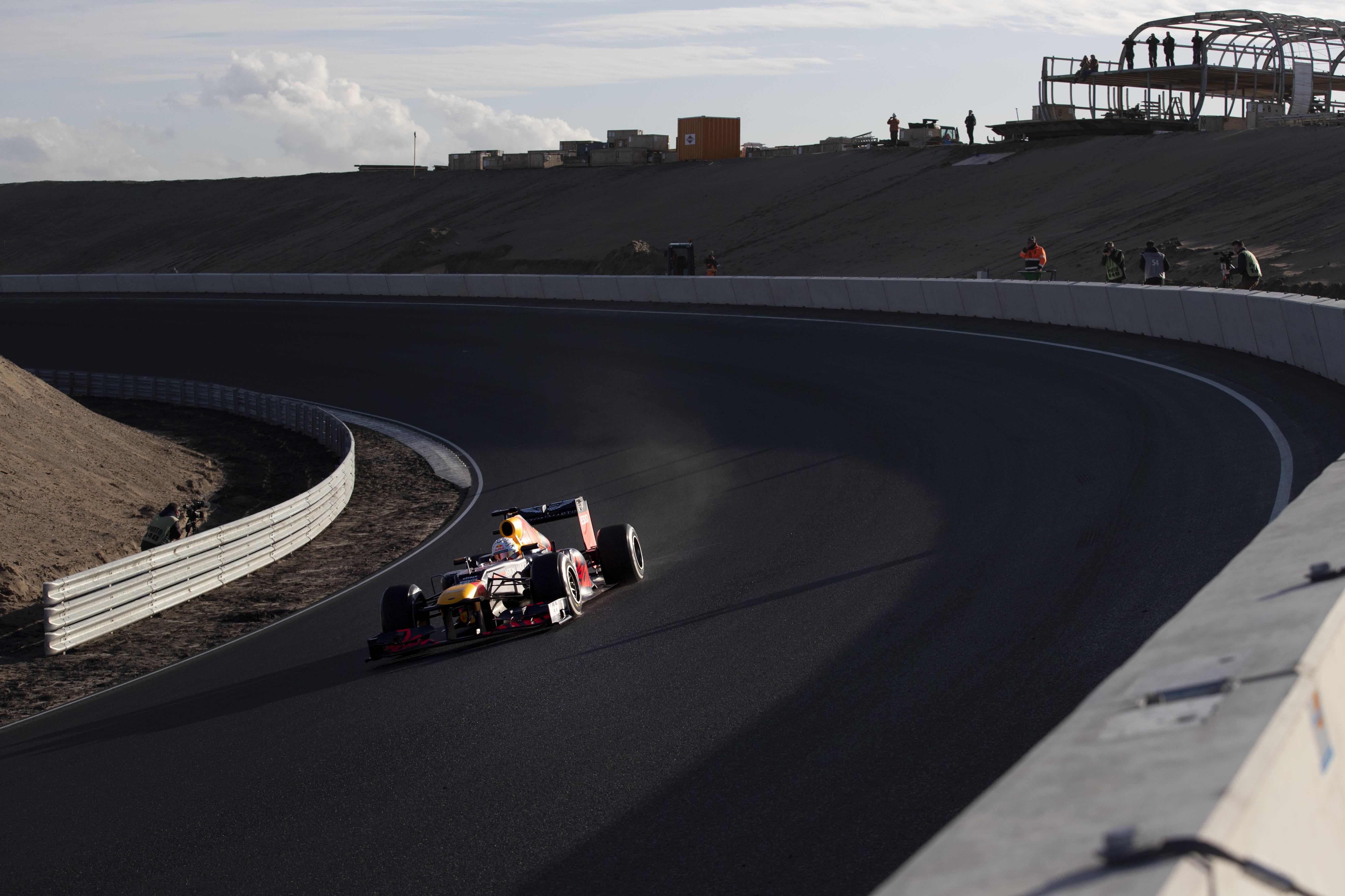Verstappen Tests Zandvoort Track That Will Host Dutch Gp