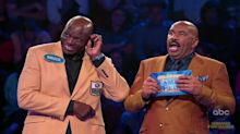 NFL legend Bruce Smith stuns Steve Harvey on 'Family Feud': 'What the f*** did he say?'