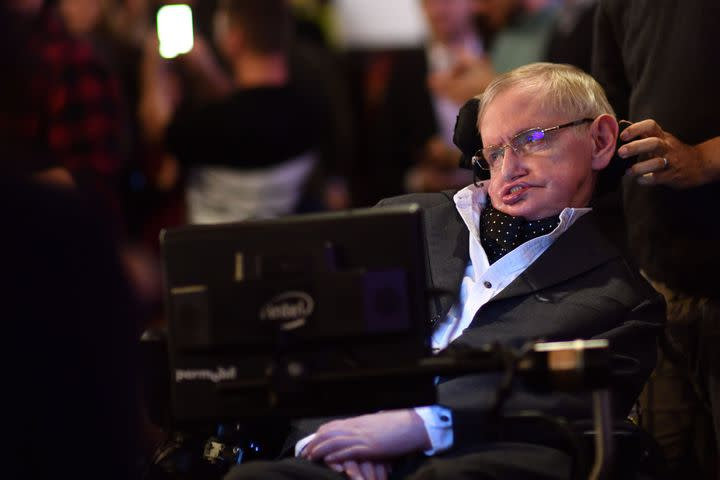 Stephen Hawking, beloved author of 'A Brief History of Time,' dies at 76