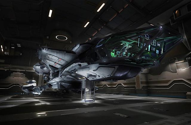'Star Citizen' gives backers their first taste of a fuller game