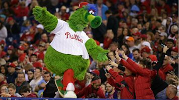What does the new Phillie Phanatic look like? Here are all the changes and updates to the mascot