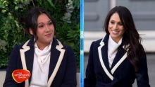 The perks of being a Meghan Markle doppelgänger