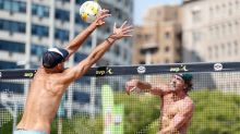 AVP Champions Cup marks beach volleyball's socially distanced return