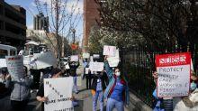 'No armor' - New York nurses decry lack of coronavirus equipment