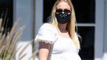Pregnant Sophie Turner Rewore Her Fave Maternity Dress