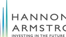 Hannon Armstrong Sustainable Infrastructure Capital, Inc. Announces the Pricing of its $112 Million Public Offering of Common Stock