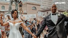 Philadelphia couple becomes a symbol of hope and love during Black Lives Matter protest