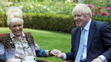 Dame Barbara Windsor visits Downing Street to demand Boris Johnson helps dementia patients