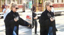 La pancita de Khloe Kardashian