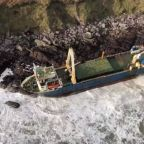 Ghost ship washes up in Ireland