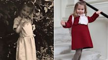 Royal Resemblance! Princess Charlotte Looks Just Like Princess Diana's Niece in Throwback Snap