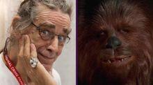 Los protagonistas de Star Wars dicen adiós a Peter Mayhew, el Chewbacca original de Star Wars