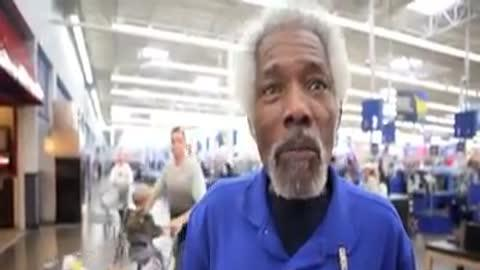 Best Wal-Mart Greeter Ever!