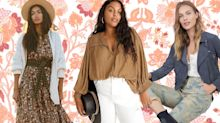 Anthropologie is offering up to 40% off fall fashion - but for this weekend only