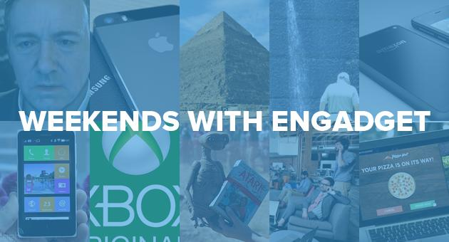 Weekends with Engadget: Apple vs. Samsung round two, the new Engadget and more!
