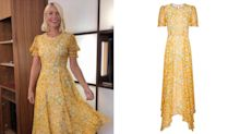 Holly Willoughby celebrates 10 years on This Morning in the perfect summer dress