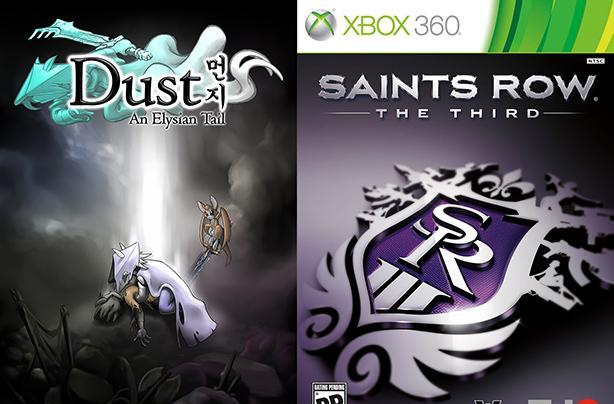 May Games With Gold: Dust: An Elysian Tail, Saints Row The Third