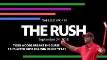 The Rush: Tiger Woods breaks the curse, cries after first PGA win in five years