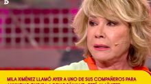 "Mila Ximénez, llorando, deja 'Sálvame': ""No me gusta lo que hago aquí"""