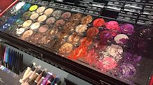 A child ruined over $1,000 of makeup at Sephora