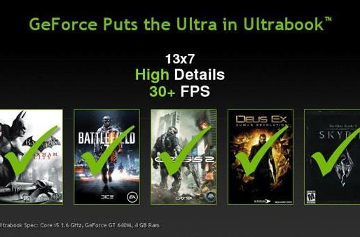 NVIDIA: there's nothing 'Ultra' about Ivy Bridge Ultrabooks unless you add Kepler