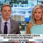 Son of woman who died in the Dominican Republic searches for answers