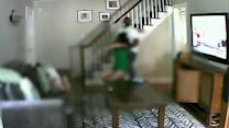 Nanny cam shows intruder beating NJ woman near kid
