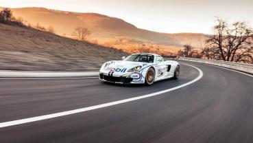 全球僅此一輛的改裝賽車 Porsche Carrera GT-R 罕見釋出