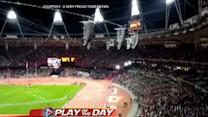 'GMA' Play of the Day: Packed Olympic Stadium in London Sings The Beatles' 'All You Need Is Love'